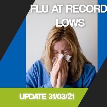 Flu At Record Lows